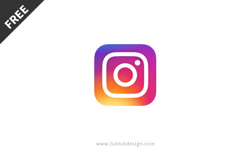 Instagram Icon, Free Vector Download
